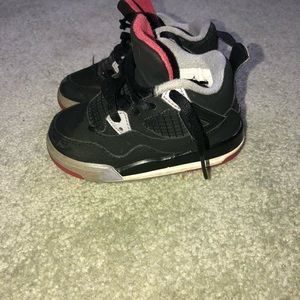 Toddler Jordan's. Size 6.5.